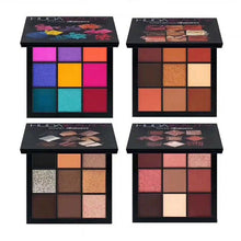Load image into Gallery viewer, 9 Colors Glitter Eyeshadow Makeup Pallete Matte Eye Shadow Palette Shimmer and Shine Diamond Eyeshadow Powder Pigment Cosmetics - Vipbeautycompany