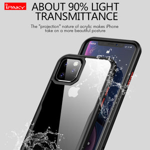 Applicable to Apple 11 mobile phone shell new iphone11 6.1 protective cover shatter-resistant 6.5 lanyard transparent soft shell - Vipbeautycompany