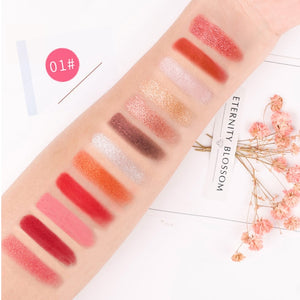 HOLD LIVE Color Focus Charm Shaow Eye Shadow Palette 12 Colors Matte Glitter Eyeshadow Palettes Pigment Nude Shadows Makeup Set - Vipbeautycompany