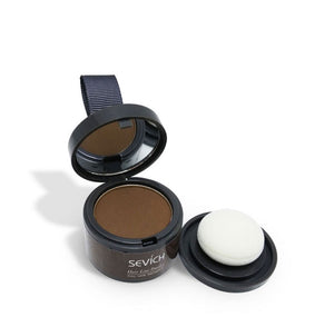 Makeup Hair Line Shadow Powder Eyebrow Powder Extract Easy to Wear Make Up neat symmetry hairline with Mirror Puff Fibers - Vipbeautycompany
