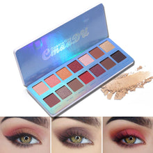 Load image into Gallery viewer, Cmaadu Chill Baby 14 Colors Eyeshadow Makeup Palette Shimmer Matte Nude Shining Waterproof Smoky Eye Shadow Powder Cosmetics - Vipbeautycompany