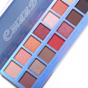 Cmaadu Chill Baby 14 Colors Eyeshadow Makeup Palette Shimmer Matte Nude Shining Waterproof Smoky Eye Shadow Powder Cosmetics - Vipbeautycompany