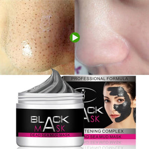 Dead Sea Mud Moisturizing Whitening Mask Mud Deep Cleaning Skin Pore Acne Blackhead Treatment Facial Care Y3 - Vipbeautycompany