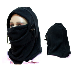 Motorcycle Bicycle Face Mask Thermal Fleece Balaclava Hood Swat Ski Bike Wind Winter Stopper Skullies Beanies Outdoor Sports - Vipbeautycompany