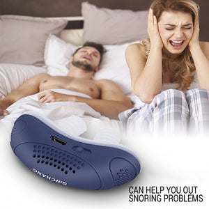 Electric snoring appliance for men and women snoring prevention appliance Anti-Snoring Device Stop Snoring Stopper Machine - Vipbeautycompany