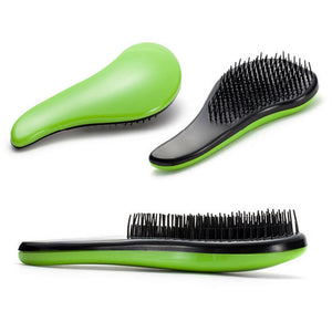 1PC 15CM Eyecatching Hair Care Styling Hair Comb Beauty Healthy Styling Care Hair Comb Shower Massager Detangle Brush - Vipbeautycompany