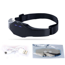 Load image into Gallery viewer, Help Sleep Mask Wireless Charging Electric Hypnosis Head Sleep Instrument Acupuncture Sleep Aid Instrument Insomnia treatment - Vipbeautycompany