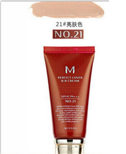 Missha M Perfect Cover BB Cream #21 Or #23 SPF42 Pa+++ 50Ml Korean Cosmetics Makeup Base CC Creams Whitening Original Package - Vipbeautycompany