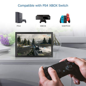 Monitor HD 10.1 inch 2K touch Screen portable 2HDMI IPS  USB powered for PC ps4 raspberry pie win7 8 10 medical factory restaura - Vipbeautycompany