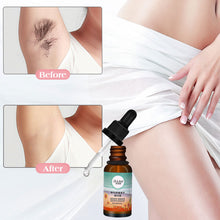 Load image into Gallery viewer, Natural Permanent Hair Removal Serum Stop Hair Growth Inhibitor Removal Face Armpit Legs Body Pubic Hair Depilation Serum 10ml - Vipbeautycompany