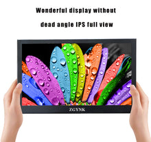 Load image into Gallery viewer, New 13.3 inch 2K HD Portable Monitor touch screen PC PS3 PS4 Xbo x360 1080P IPS LCD LED Display Monitor for Raspberry Pi - Vipbeautycompany