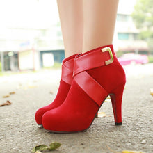 Load image into Gallery viewer, New High-heeled Shoes Woman Pumps Wedding Shoes Platform Fashion Women Shoes Red Bottom High Heels - Vipbeautycompany