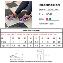 Load image into Gallery viewer, New Women Vulcanized Shoes Snake Printing PU Leather Sneakers Female Slip On Fashion Platform Woman Shoes Walking Footwear - Vipbeautycompany