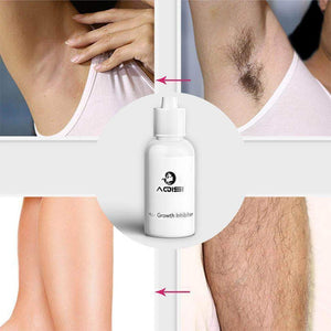 Permanent Hair Growth Inhibitor After Unhairing Repair Essence Shrinking Pores Depilated Skin Care Lotion - Vipbeautycompany