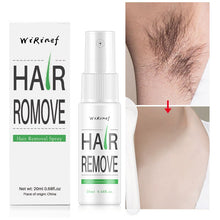 Load image into Gallery viewer, Powerful Permanent Painless Hair Removal Spray Hair Stop Growth Inhibitor Shrink Pores Skin Smooth Repair Essence - Vipbeautycompany