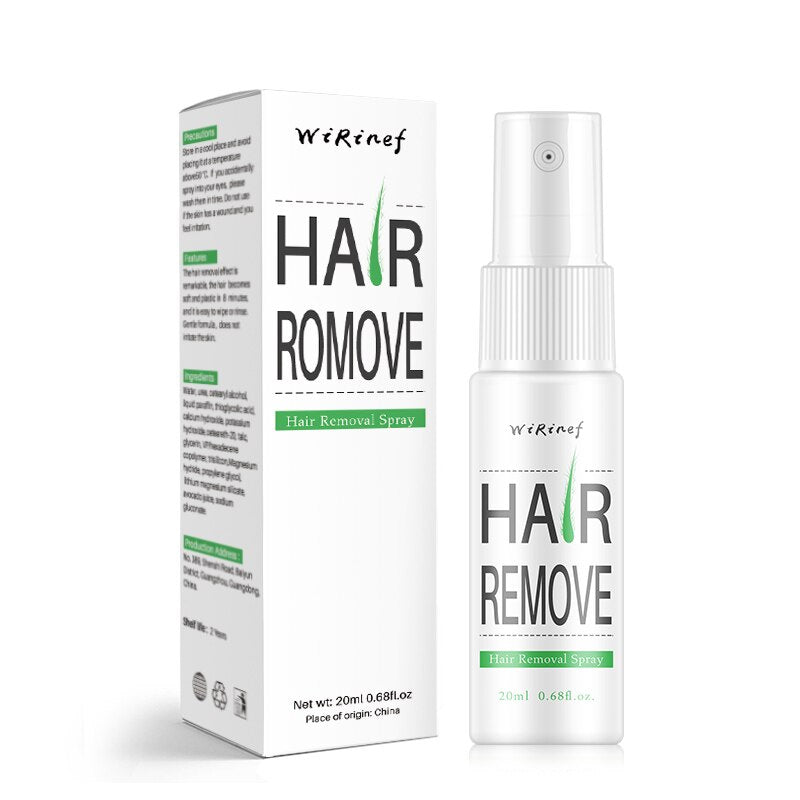 Powerful Permanent Painless Hair Removal Spray Hair Stop Growth