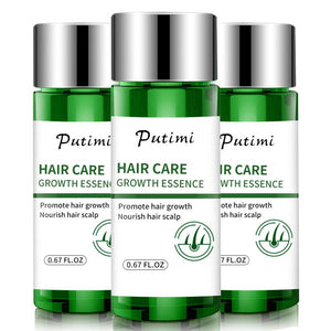 Putimi Hair Care Growth Essence Anti Hair Loss Prevent Health Care Beauty Dense Hair Growth Serum Products for Women Men 20ml - Vipbeautycompany