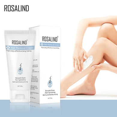 ROSALIND Hair Removal Cream Underarm Hand Leg Body Painless Effective depiladora Facial Hair Remover Lightening Smooth Care - Vipbeautycompany