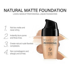 Load image into Gallery viewer, Smooth Silk Serum Foundation Professional Full Coverage Matte Liquid Foundation Face Base Makeup Conclear BB Cream cosmetic tool - Vipbeautycompany