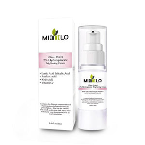 Strong effect whitening cream Ultrta-Potent 2% Hydroquinone Brightening Cream Remove Freckle melasma Acne Spots pigment Melanin - Vipbeautycompany