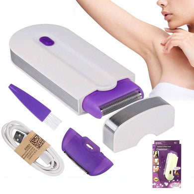 USB Rechargeable Women Epilator Portable Hair Removal Tool Rotary Shaver Body Face Leg Bikini Lip Depilator Hair Remover Laser - Vipbeautycompany