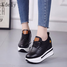 Load image into Gallery viewer, Vulcanized wedges Shoes Women - Vipbeautycompany