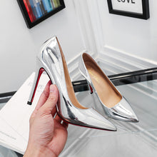 Load image into Gallery viewer, YEELOCA Spring Pointed High-heeled Shoes Shallow Mouth Stiletto Single Shoes Wedding Pumps Professional Red Bottom Women's Shoes - Vipbeautycompany
