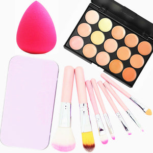 Cream Concealer / Contour Makeup Brushes Dry / Combination / Oily Concealer Eye / Face Makeup Cosmetic Microfiber - Vipbeautycompany