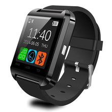 Load image into Gallery viewer, U8 Smartwatch Watch  Bluetooth Answer and Dial the Phone Passometer Burglar Alarm Funcitons - Vipbeautycompany