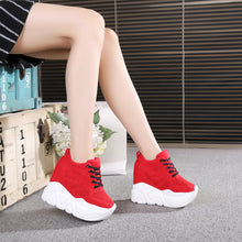 Load image into Gallery viewer, new 2020 Women Casual Platform Shoes Fashion High Heels Shoes Woman Wedges Women Shoes Loafers Heigh Increasing zapatos mujer - Vipbeautycompany