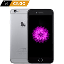 Load image into Gallery viewer, Unlocked Apple iPhone 6 1GB RAM 4.7 inch IOS Dual Core 1.4GHz 16/64/128GB ROM 8.0 MP Camera 3G WCDMA 4G LTE Used Mobile phone - Vipbeautycompany