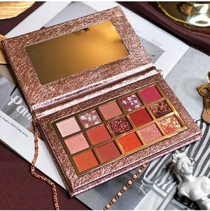 Professional Makeup 15 Colors Eyeshadow Palette Natural Pigmented Shimmer Matte Eyeshadow Pallete Cosmetics Long Lasting Palette - Vipbeautycompany