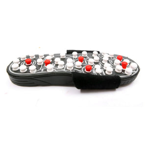Chinese Acupressure Therapy Shoe Massage Slippers Sandal Reflex Acupuncture Foot Healthy Massager Shoe Bath Feet Care - Vipbeautycompany