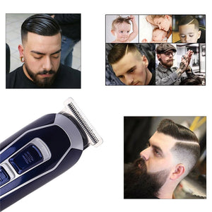 Electric Hair Clipper Rechargeable Shaver Low Noise Professional Hair Trimmer Cordless Men's Hair Cutting Machine Beard Trimer42 - Vipbeautycompany