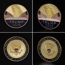 Load image into Gallery viewer, Commemorative Coin America President Trump 2020 Collection Speech Crafts Art Storage Souvenir Alloy Round Gifts - Vipbeautycompany