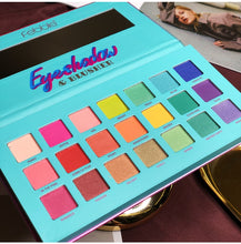 Load image into Gallery viewer, 21 Color Colorful Rainbow Makeup Eyeshadow Palette Matte Shimmer Pigmented Glitter Makeup EyeShadow Pallete Summer Collection - Vipbeautycompany