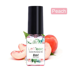 LEMOOC 8/15ML Fruit Smell Dried Flowers Nail Cuticle Oil Care Finger Transparent Revitalizer Nutrition Nourishing Liquid - Vipbeautycompany