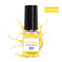 Load image into Gallery viewer, LEMOOC 8/15ML Fruit Smell Dried Flowers Nail Cuticle Oil Care Finger Transparent Revitalizer Nutrition Nourishing Liquid - Vipbeautycompany