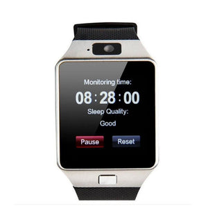 DZ09 Bluetooth Smart Watch 2G GSM SIM Phone Call Support TF Card Camera Wrist Watches for iPhone Samsung HuaWei Xiaomi - Vipbeautycompany