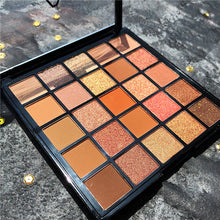 Load image into Gallery viewer, 25 Color Shimmer Matte Nude Eyeshadow Palette Glitter Powder Makeup Metallic Eyeshadow Pallete Cosmetic Makeup paleta de sombras - Vipbeautycompany