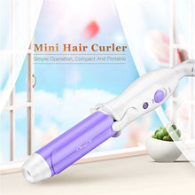 Load image into Gallery viewer, 2 Colors Portable Mini Curling Iron Tongs Magic Hair Curler Roller Ceramic Hair Curler Wand DIY Wave Hair Care Styling Tools - Vipbeautycompany