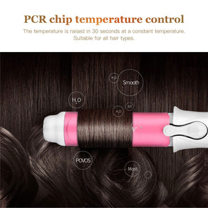 2 Colors Portable Mini Curling Iron Tongs Magic Hair Curler Roller Ceramic Hair Curler Wand DIY Wave Hair Care Styling Tools - Vipbeautycompany