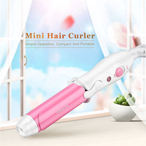 Travel Style Portable Ceramic Hair Curler Women Mini Curling Iron Curling Wand rizador pelo Magic Hair Styling Tool Hair Care - Vipbeautycompany