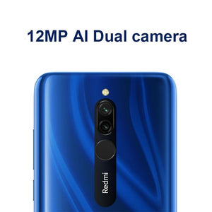 Global ROM Xiaomi Redmi 8 4 GB 64 GB Octa-core Snapdragon 439 processor 12 MP dual camera Smartphone  5000 mAh Redmi 8 - Vipbeautycompany