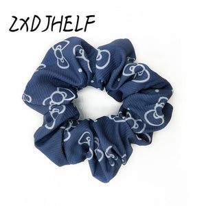 ZXDJHELF New Arrival Vintage Leopard Ponytail Holder Scrunchies Ring Elastic Hair Band Tie For Women Girl Hair Accessoires F512 - Vipbeautycompany