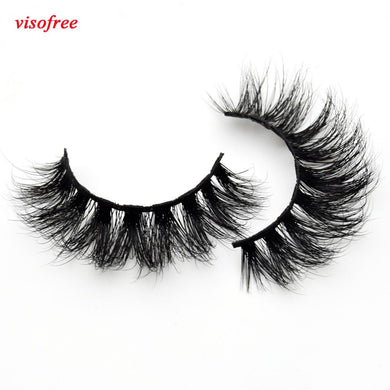 Visofree Thick Eyes Lashes Hand Make Fake Eyelashes Dramatic Volume False-eyelashes 3D Lashes Cilios Mink for Makeup Tools D110 - Vipbeautycompany