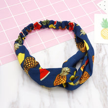 Load image into Gallery viewer, Fashion Women Girls   Bohemian Hair Bands Print Headbands Vintage Cross Turban Bandage Bandanas HairBands Hair Accessories - Vipbeautycompany
