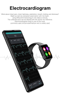 Soulusic IWO 8 lite Bluetooth Call Smart Watch ECG Heart Rate Monitor W34 Smartwatch for Android iPhone xiaomi PK iwo 8 10 Band - Vipbeautycompany