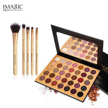 Load image into Gallery viewer, IMAGIC 35 color Eye Shadow Flash Eyeshadow Makeup Pallete Matte Eye Shadow Palette Nude Makeup Set Cosmetic Powder Pigment neon - Vipbeautycompany