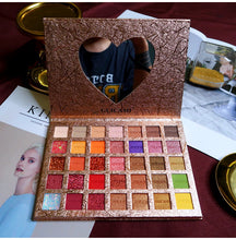 Load image into Gallery viewer, Diamond Eyeshadow Pallete 35 Colors Colorful Powder Pigmented Eyeshadow Palette Glitter Shimmer Matte Makeup Palette Cosmetic - Vipbeautycompany